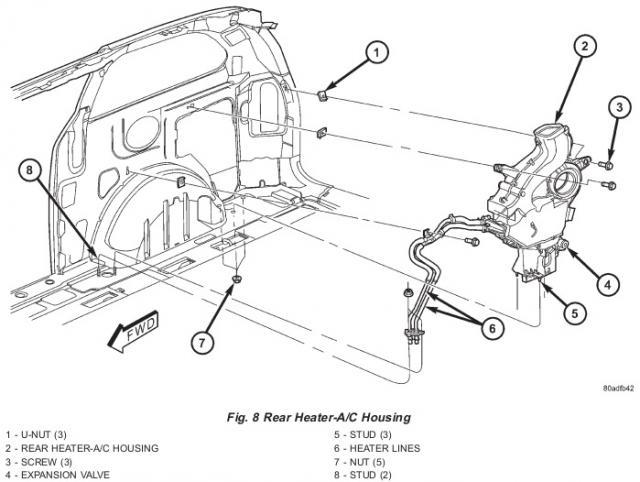 Rear Heat Ac Fan Not Blowing The Chrysler Minivan Fan Club Forums