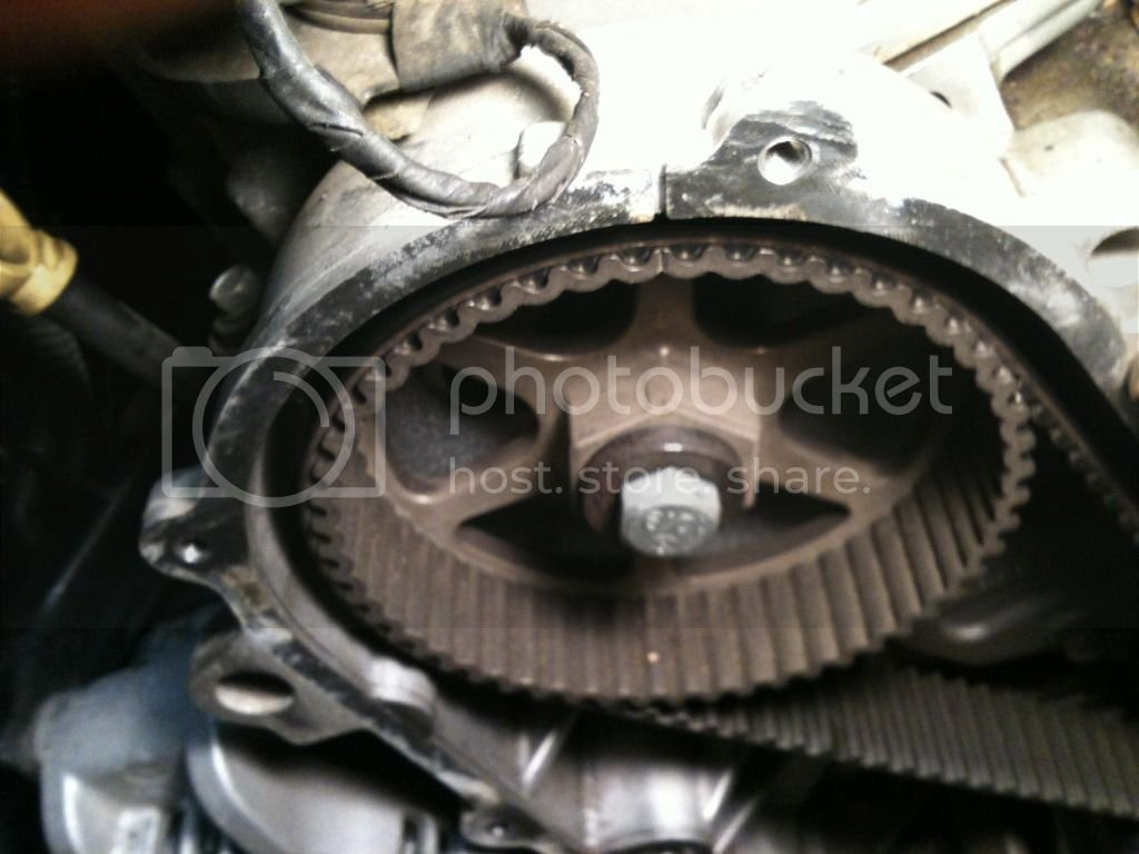 2010 DGC 4 0L timing belt, water pump, and spark plug change write