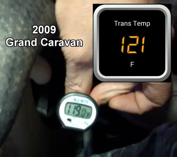 Trans temp w/ OBD Fusion app and OBD2 dongle | The Chrysler Minivan