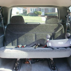 1998 Chrysler T&C LX LWB Interior View Rear Seats