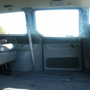 1998 Chrysler T&C LX LWB 09 sm Interior View Ideal Location for RV Addition